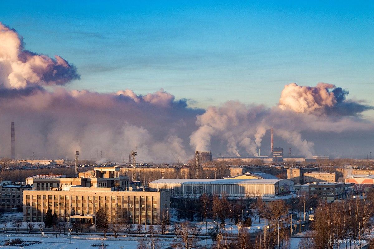 Проект мероприятий по уменьшению выбросов при НМУ